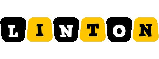 Linton boots logo