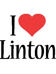 Linton i-love logo