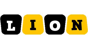 Lion boots logo