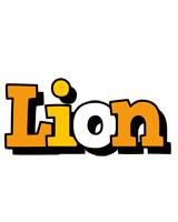 Lion cartoon logo