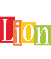 Lion colors logo