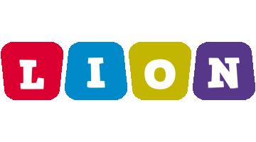 Lion daycare logo