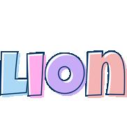 Lion pastel logo