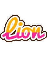 Lion smoothie logo
