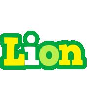 Lion soccer logo