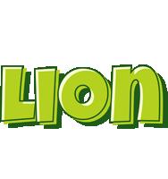 Lion summer logo