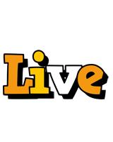 Live cartoon logo