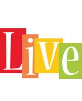 Live colors logo