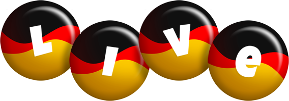 Live german logo