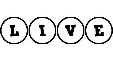 Live handy logo