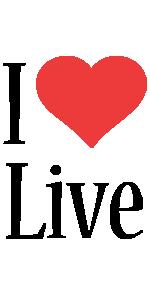 Live i-love logo