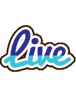 Live raining logo