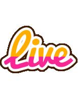 Live smoothie logo