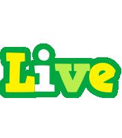 Live soccer logo