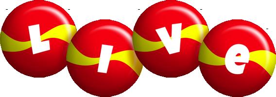 Live spain logo