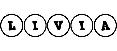 Livia handy logo