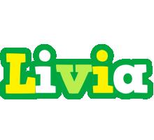 Livia soccer logo
