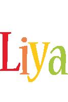 Liya birthday logo