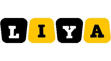 Liya boots logo