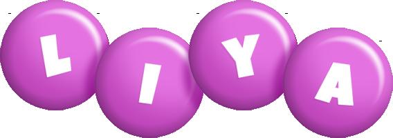 Liya candy-purple logo