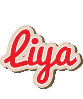 Liya chocolate logo