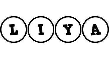 Liya handy logo