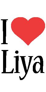 Liya i-love logo