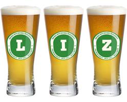 Liz lager logo