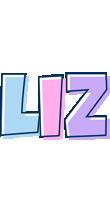 Liz pastel logo