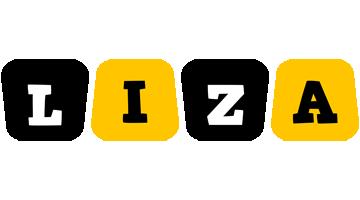 Liza boots logo