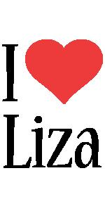 Liza i-love logo