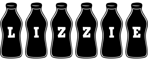 Lizzie bottle logo
