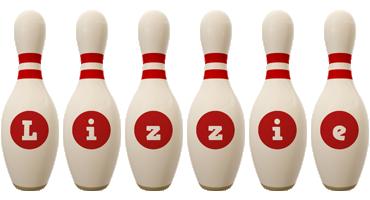 Lizzie bowling-pin logo