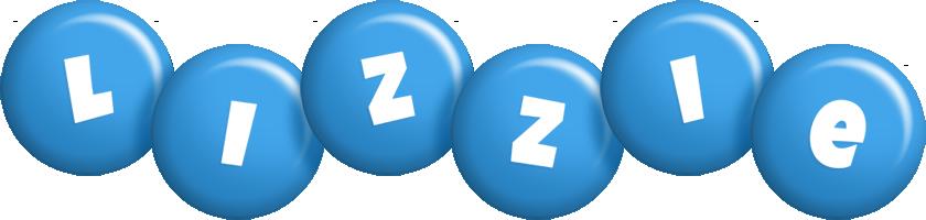 Lizzie candy-blue logo