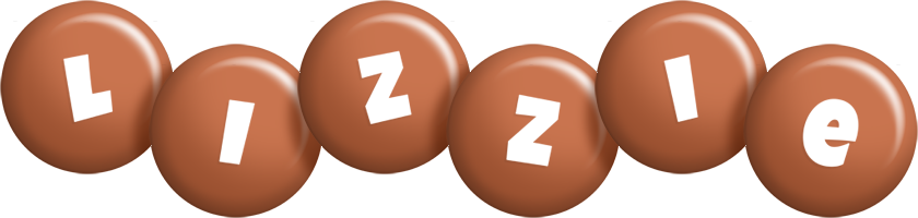 Lizzie candy-brown logo
