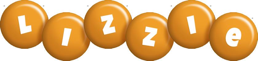 Lizzie candy-orange logo