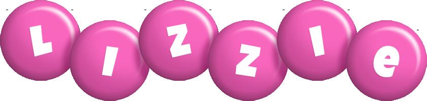 Lizzie candy-pink logo