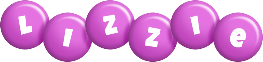 Lizzie candy-purple logo
