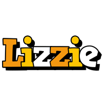 Lizzie cartoon logo