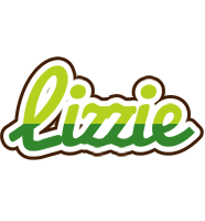 Lizzie golfing logo