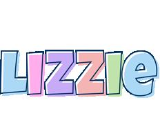 Lizzie pastel logo