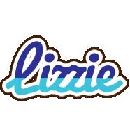 Lizzie raining logo