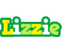 Lizzie soccer logo