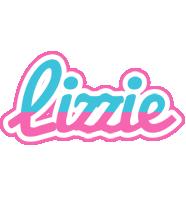 Lizzie woman logo