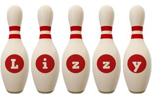Lizzy bowling-pin logo