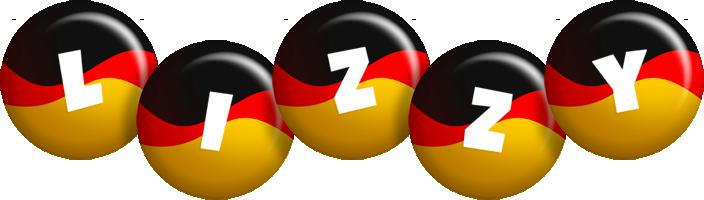 Lizzy german logo