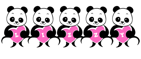 Lizzy love-panda logo