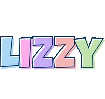 Lizzy pastel logo