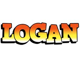 Logan sunset logo