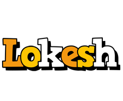 Lokesh cartoon logo
